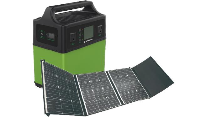 ポータブルバッテリーシステム+ソーラーパネル